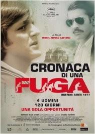 La locandina italiana di Cronaca de una fuga