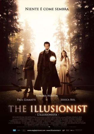 La locandina italiana di The Illusionist